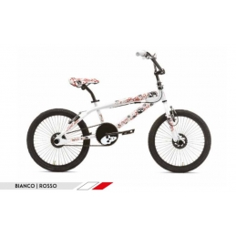 Röllmar Bici BMX Freestyle Skull White/Red