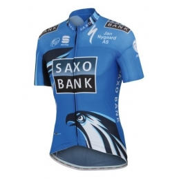 Maglie Sportful Maglia Mc Saxo Bank Bodyfit Summer Race Jersey 4804058