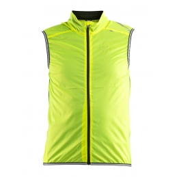 Craft Gilet Antivento Lithe Giallo Fluo 1906087