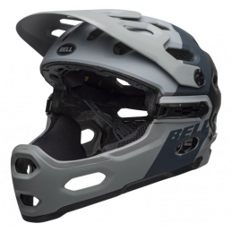 Caschi Bell Casco Super 3R Matte Gray Gunmetal BS184