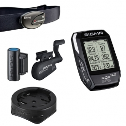 Sigma Ciclocomputer Rox 11.0 GPS Set Black 588041060