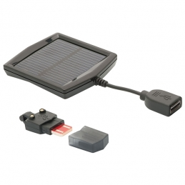 Luci & Led Blackburn Kit Caricatore Flea (Pannello Solare +usb ) BB080