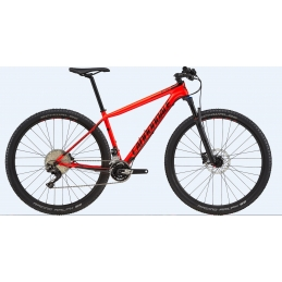 Cannondale Mtb F-Si Carbon 5 Acid Red/Jet Black 2018 C25508M
