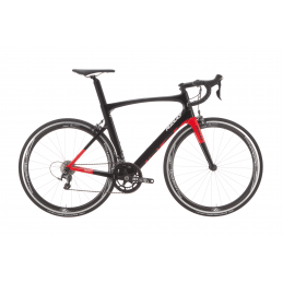Bici Corsa Ridley Bici Noah // Ultegra 8000 // Cirrus Carbon Black/Red 2019 NOA07As