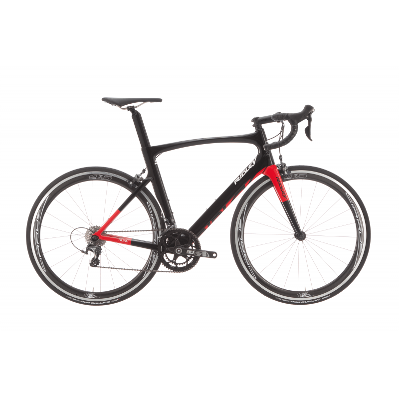 Ridley Bici Noah // Ultegra 8000 // Cirrus Carbon Black/Red 2019 NOA07As