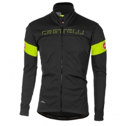 Castelli Giacca Transition Dark Gray/Yellow Fluo 17505_030