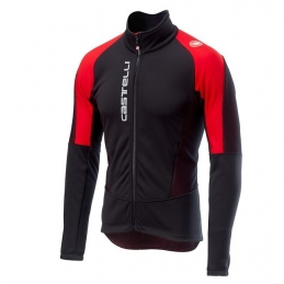 Castelli Giacca Mortirolo V Black/Red 18505_231