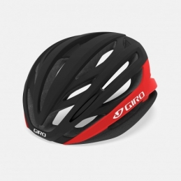 Caschi Giro Casco Syntax Mips Mat Black/Bright Red GR405