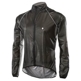 Sixs Mantellina Impermeabile Ward Grey/Black WARD JACKET