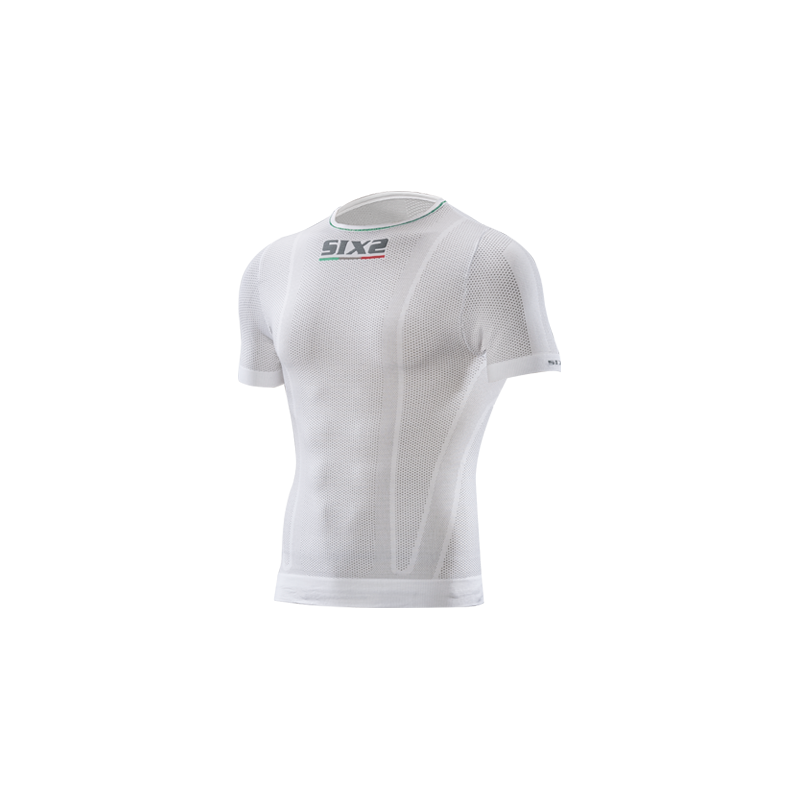 Sixs Intimo Maglia M/C Superlight White Carbon TS1L