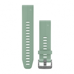 Garmin Accessori Garmin Cinturino QuickFit 20 Grayed Jade 010-12739-06