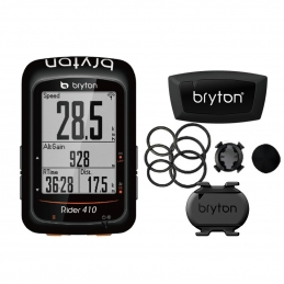 Bryton Ciclocomputer GPS Bryton Rider 410T Completo 2018 BR410T