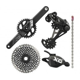 Gruppi Sram Gruppo X01 Eagle Black Boost 12v DUB 148mm