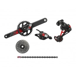 Gruppi Sram Gruppo X01 Eagle Red Boost 12v DUB 148mm