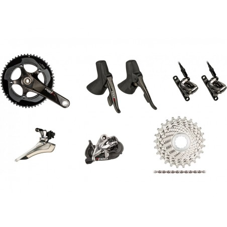 Sram Gruppo Red 22 Black Hrd Disc Flat Mount