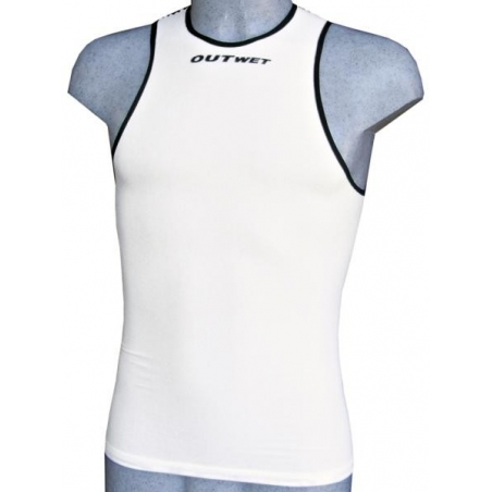 Outwet Maglia Int.Canotta Extreme Light Bianco