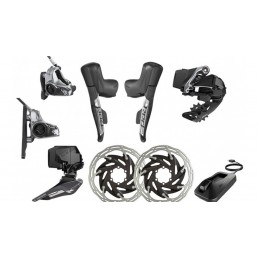 Gruppi 8 Pezzi Sram Kit Upgrade Red eTap AXS Disc 12V