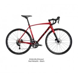 Bici Corsa Ridley Bici Kanzo A 105 Disc Red Metallic/Black 2020
