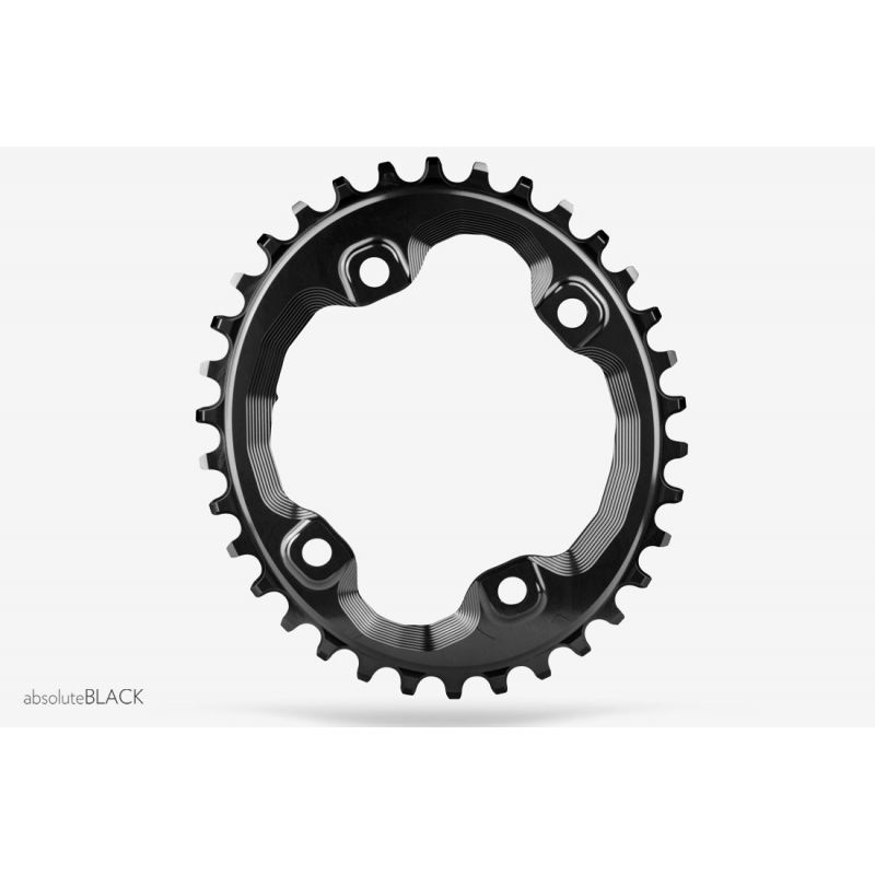 Absolute black Oval 96 BCD XT N//W 30T chainring