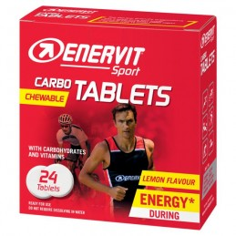 Enervit Integratori Carbo Tablets 24 tavolette