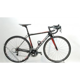 Olympia Bici 849 Ultegra Mix // Aksyum Gloss Black/Red