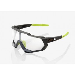 Occhiali 100% Occhiali Speedtrap Soft Tact Cool Grey Photochromic 61023-188-77