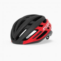 Caschi Giro Casco Agilis Mips Matte Black/Bright Red