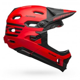 Bell Casco Super DH Flex Mips Fasthouse Matte Red/Black