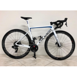 Bici Corsa Colnago Bici V3Rs Disc - Sram Force Etap Axs Power Meter 12v - Fulcrum Quattro Carbon