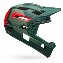Bell Casco Super Air R Mips Matte Gloss Green Infrared