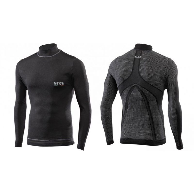 Sixs Intimo Lupetto M/L Antivento Black Carbon TS4 PLUS