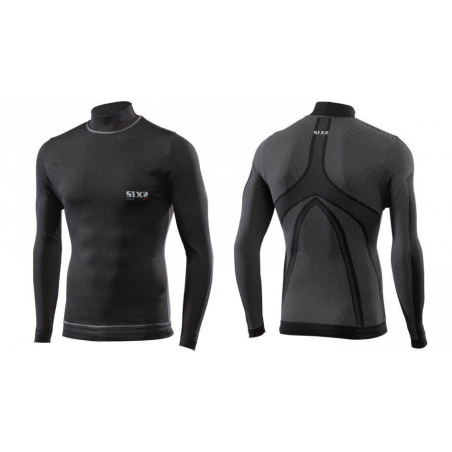 Sixs Intimo Lupetto M/L Antivento Black Carbon