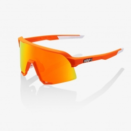 100% Occhiali S3 Soft Tact Tact Neon Orange 61034-006-43