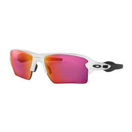 Oakley Occhiali Flak 2,0 XL Polished White Prizm Field OO9188-03