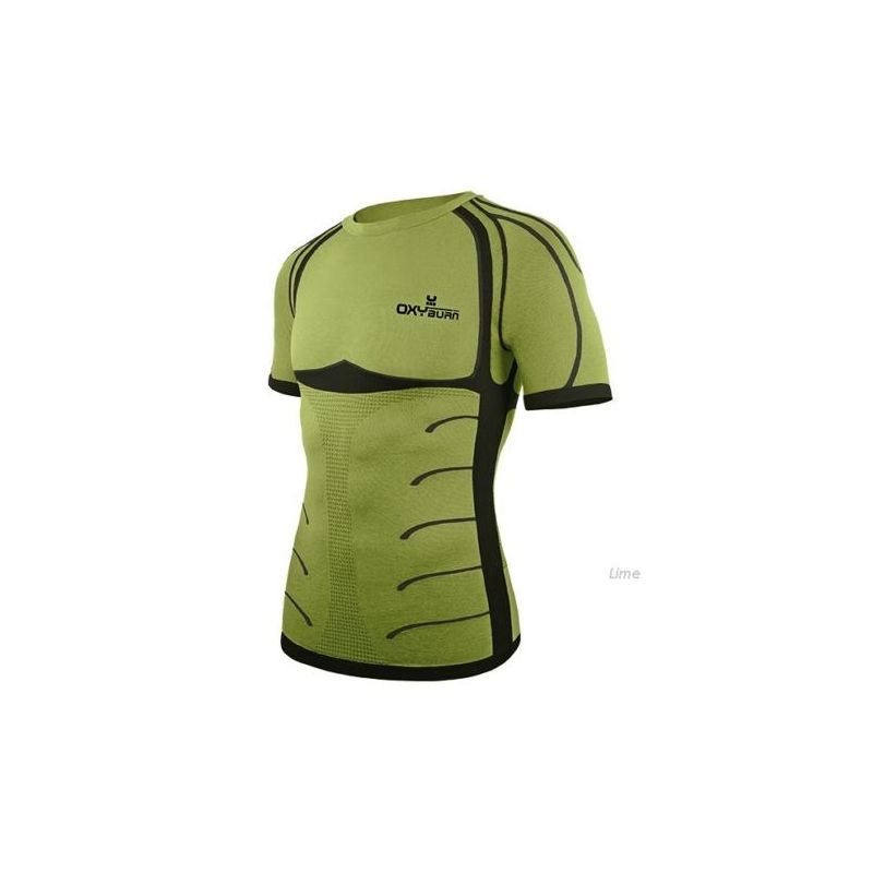 Oxyburn Intimo Manica Corta Forty Two Lime 5055