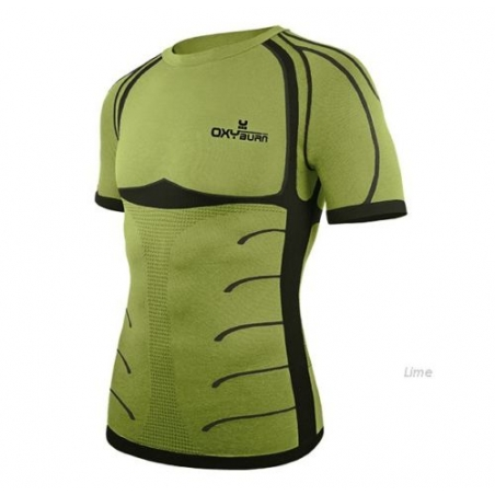 Oxyburn Intimo Manica Corta Forty Two Lime