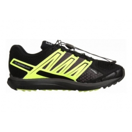 Salomon Scarpe Running Trail X-Scream Black/Fluo Yellow