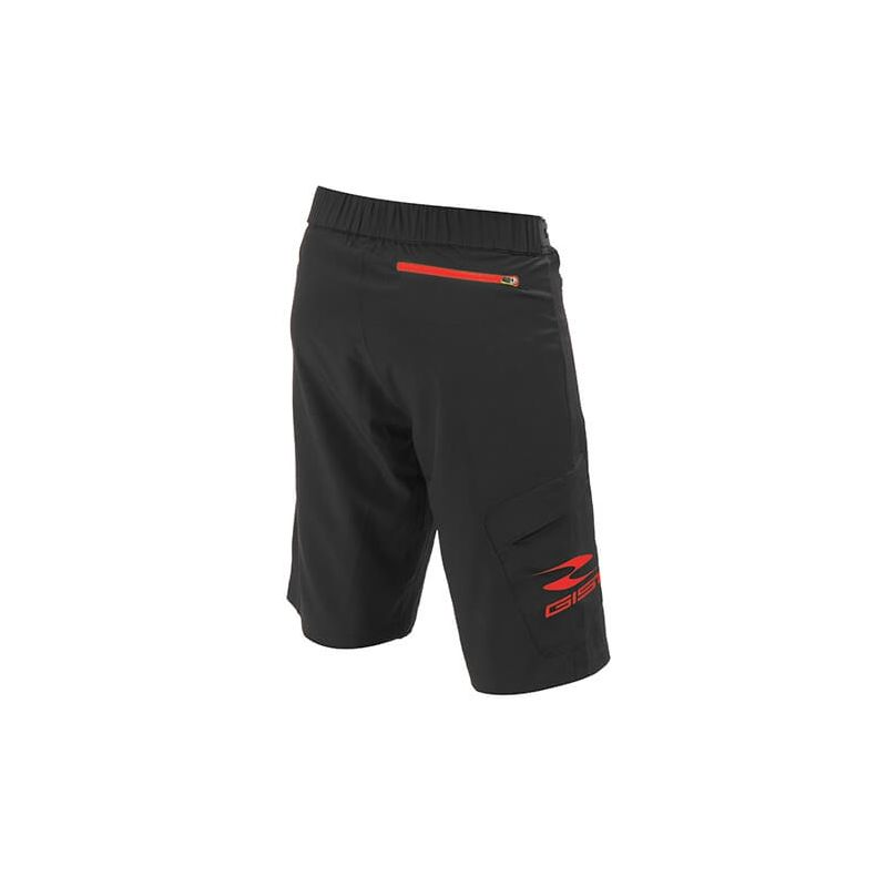 Gist Pantaloncino G-Out Mtb Nero/Rosso 5182