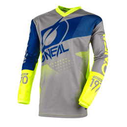 O'Neal Maglia Element Youth Factor Gray/Blue/Yellow E001-24