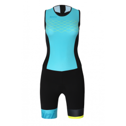 Santini Body Lady Triathlon Redux Acqua