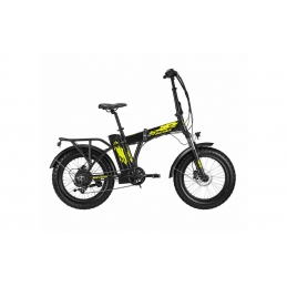 Atala E-Bike Extra Folding Black/Yellow 2020 0115290700