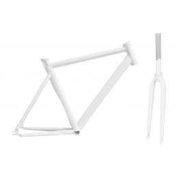 Calibre Set Telaio + Forcella Fixed Crono Style White