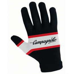 Guanti Campagnolo Guanti Tech Wool Gloves Black/White/Red 2411003