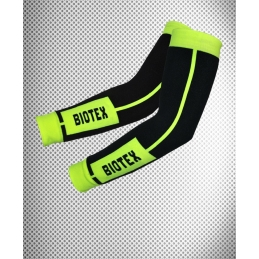 Biotex Manicotto Seamless Termico Black/Giallo Flow